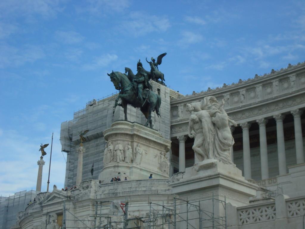 Rome Monumento a Vittorio Emanuele II