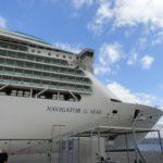 Civitavecchia: Abreise