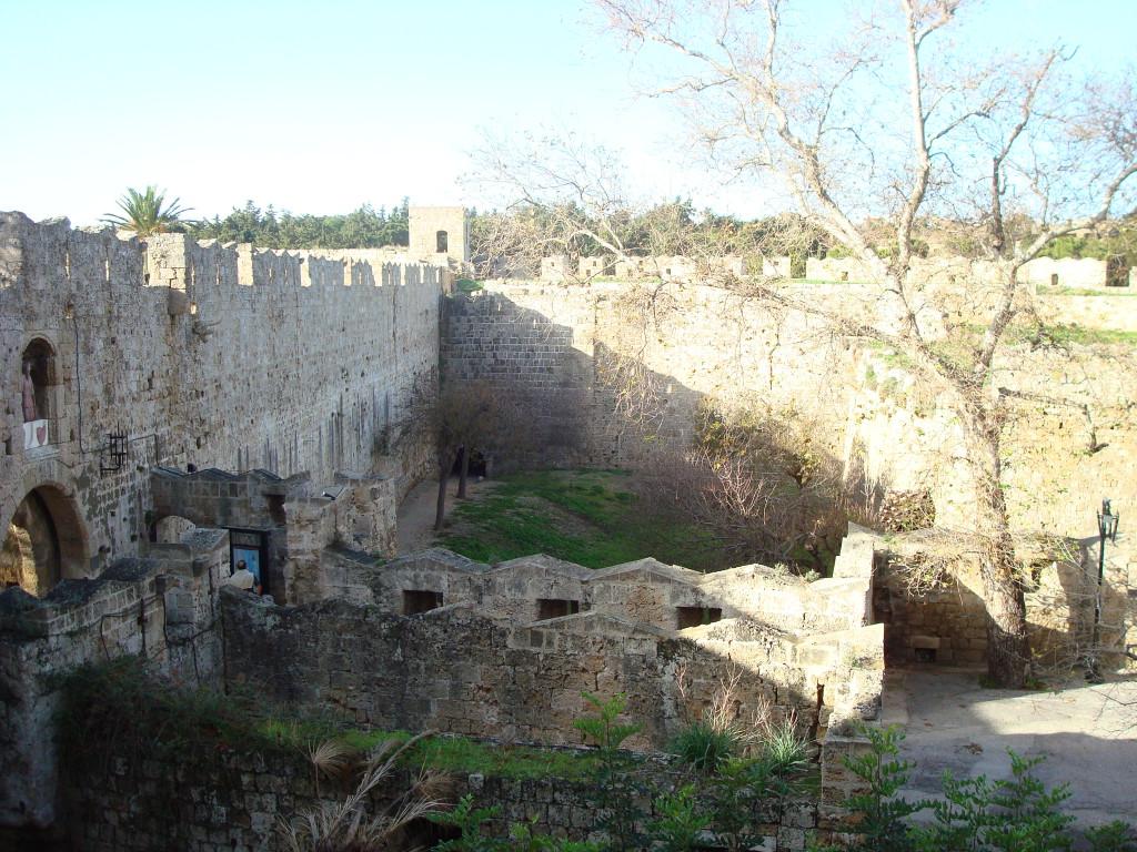 Antike Ruinen auf Rhodos