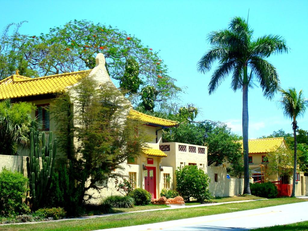 Chinesische Stadt Miami