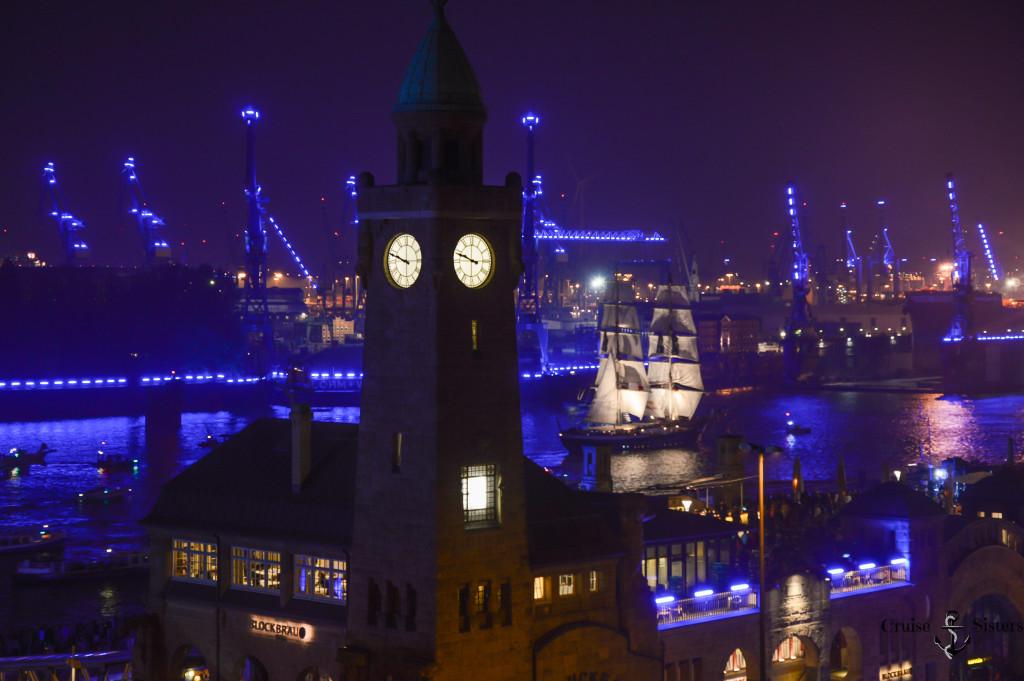 Hamburg Blue Port Harbour Kreuzfahrt