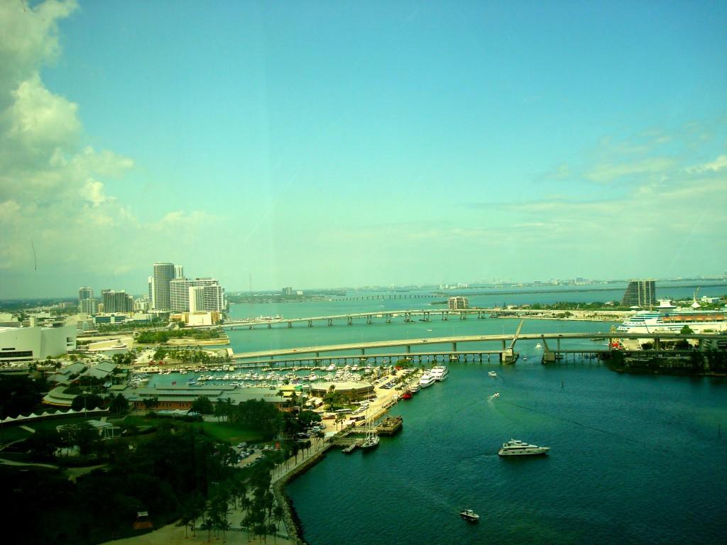 Aussicht Hotel Meer Miami