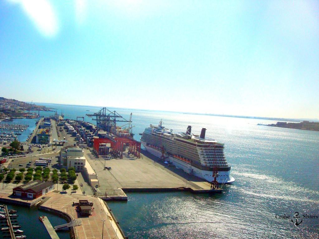 Lissabon Hafen Celebrity Ecllipse