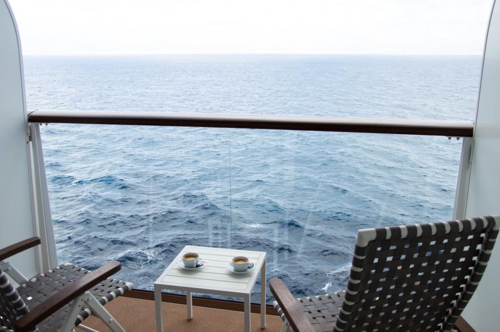 Balkonkabine auf der Mein Schiff 4