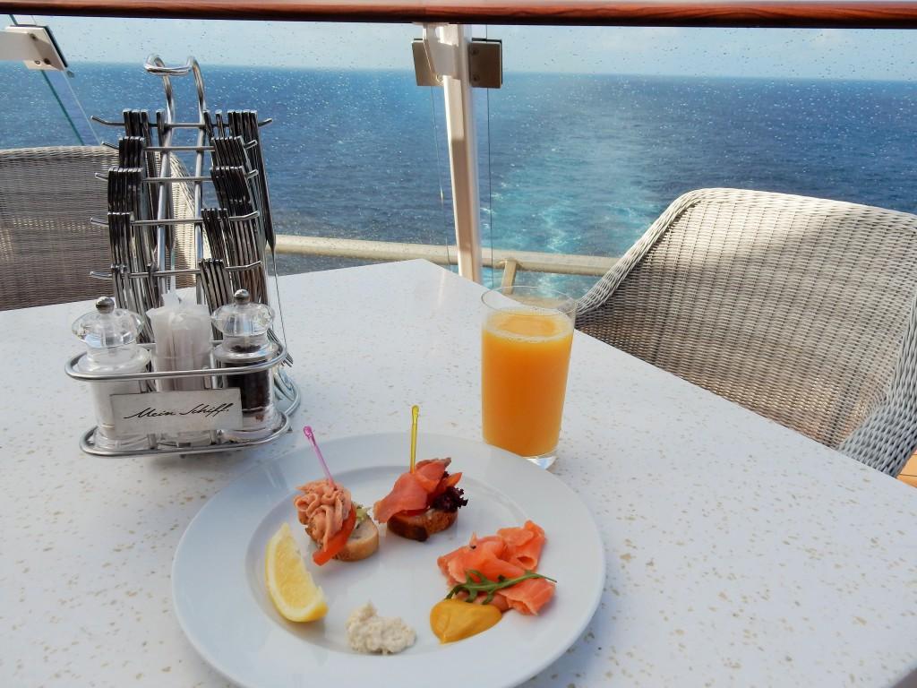 Gosh Sylt Restaurant auf dem Kreuzfahrtschiff Mein Schiff 4
