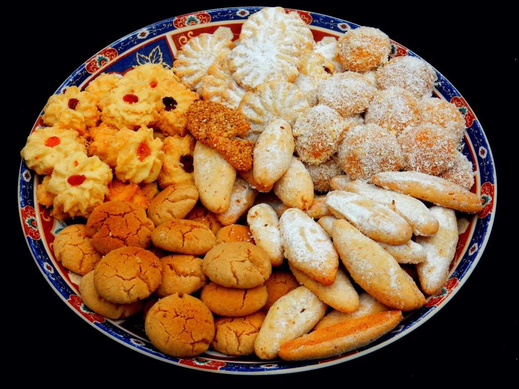 Marokkanische Kekse in Agadir auf dem Landausflug mit dem Mein Schiff 4