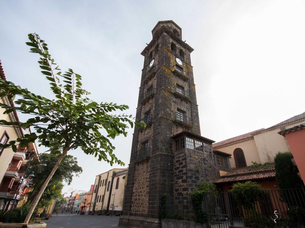 Die Kirche Iglesia de la Concepción auf Teneriffa in La Laguna