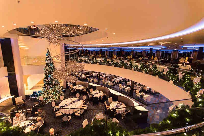 Mein Schiff 4 Weihnachtsdeko