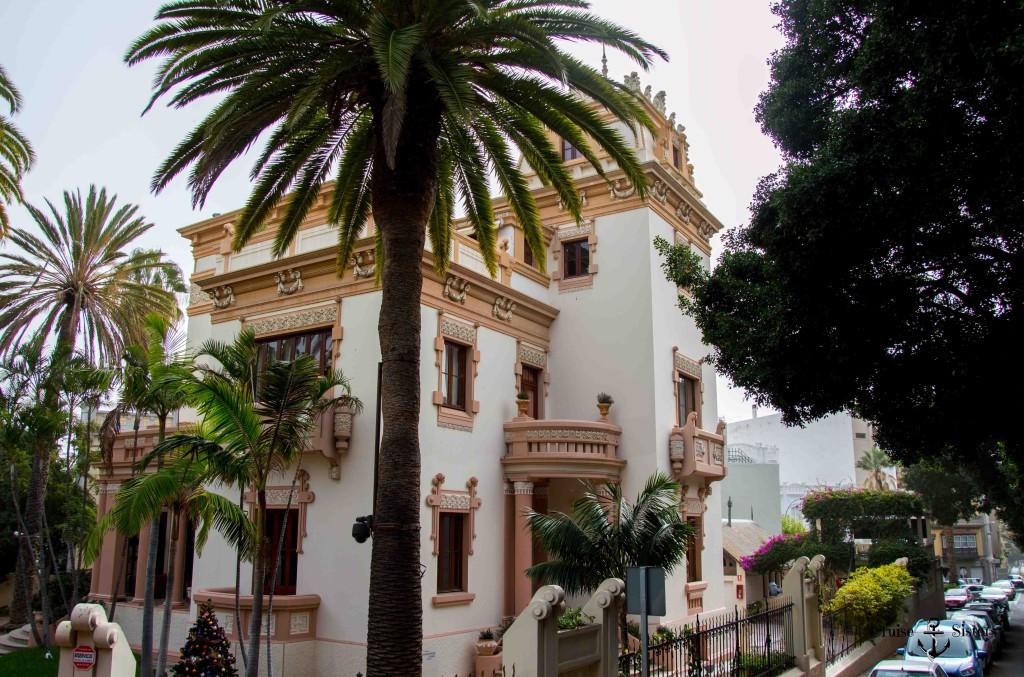 Gebäude auf Teneriffa in Santa Cruz de Tenerife