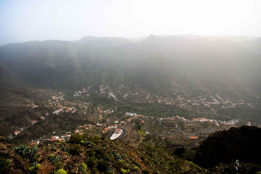 Aussichtspunkt auf Valle Gran Rey auf La Gomera