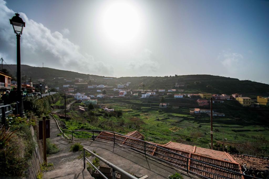 Stadt El Cercado auf La Gomera