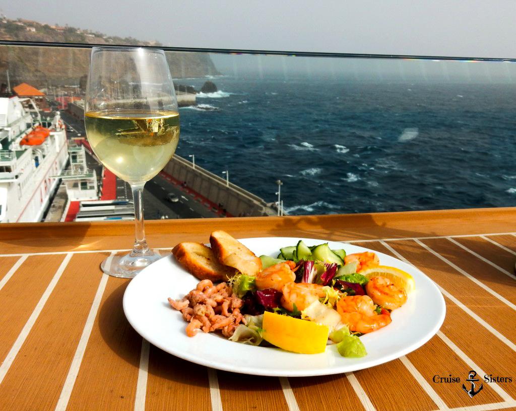 Gericht vom Gosch Sylt auf dem Kreuzfahrtschiff Mein Schiff 4