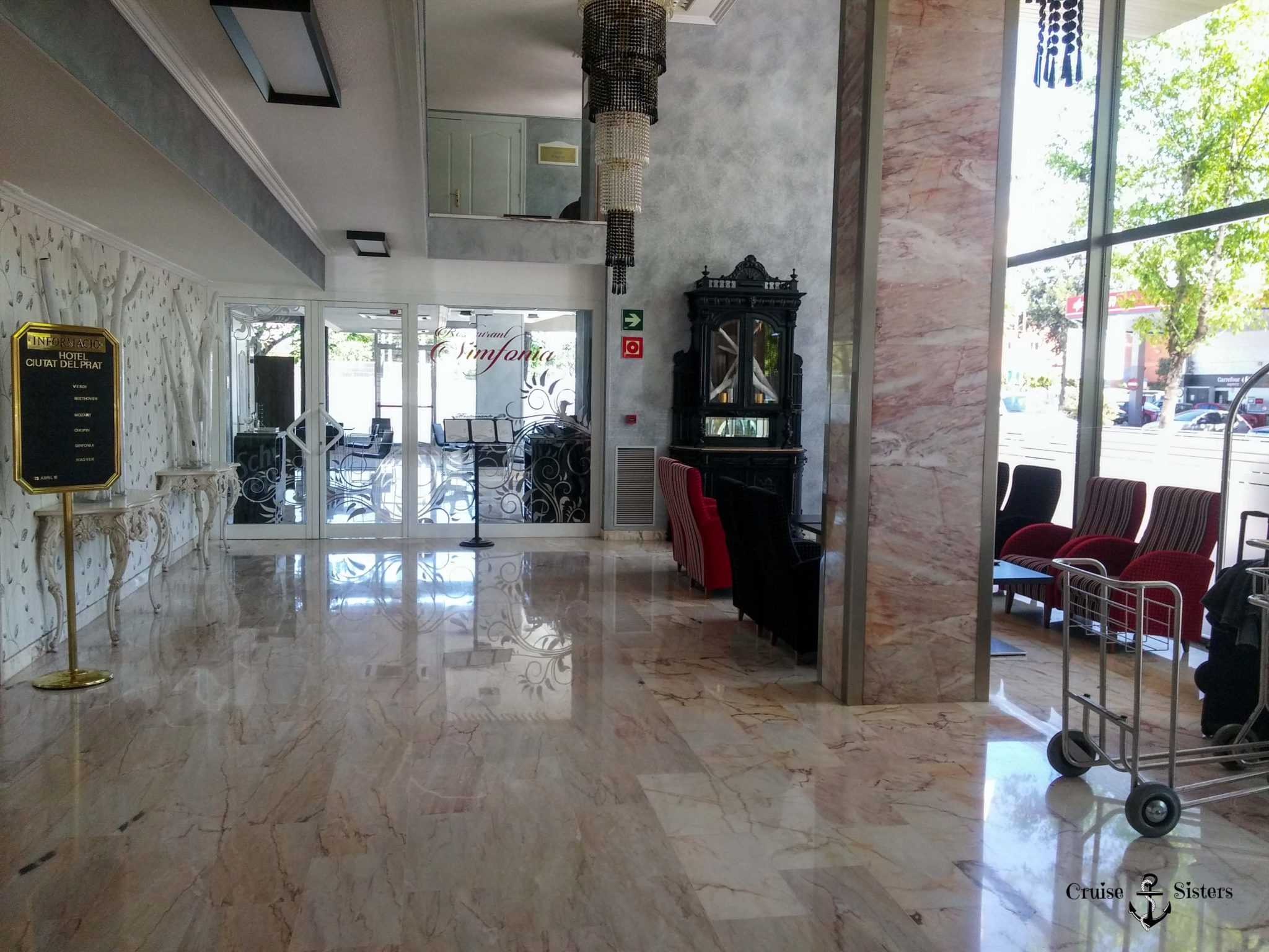 Empfang Hotel Hotel Barcelona Eingang Sallés Ciutat del Prat