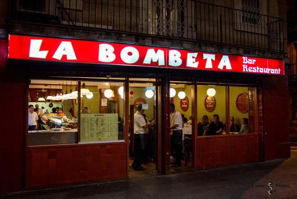 La Bombeta Tapasbar in Barcelona