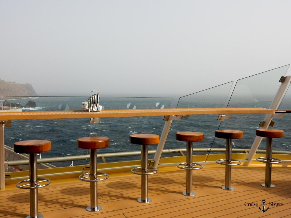 Das Restaurant Gosch Sylt auf dem Kreuzfahrtschiff Mein Schiff 4