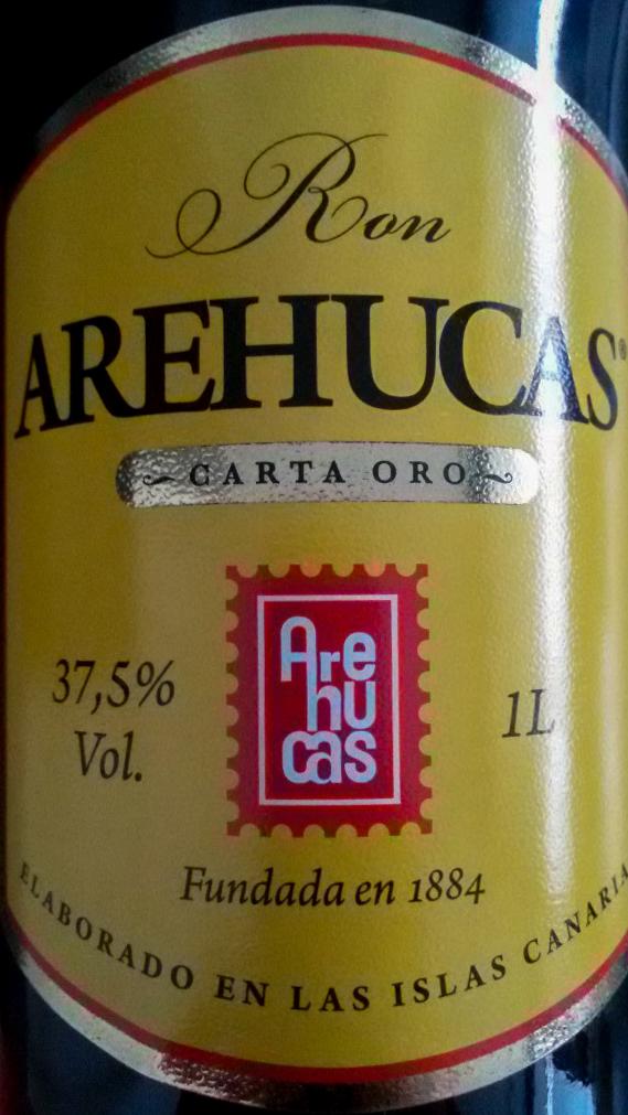 Arehucas Ron von La Gomera