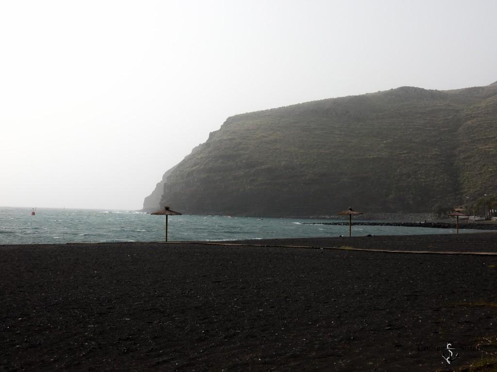 Strand auf La Gomera bei San Sebastian