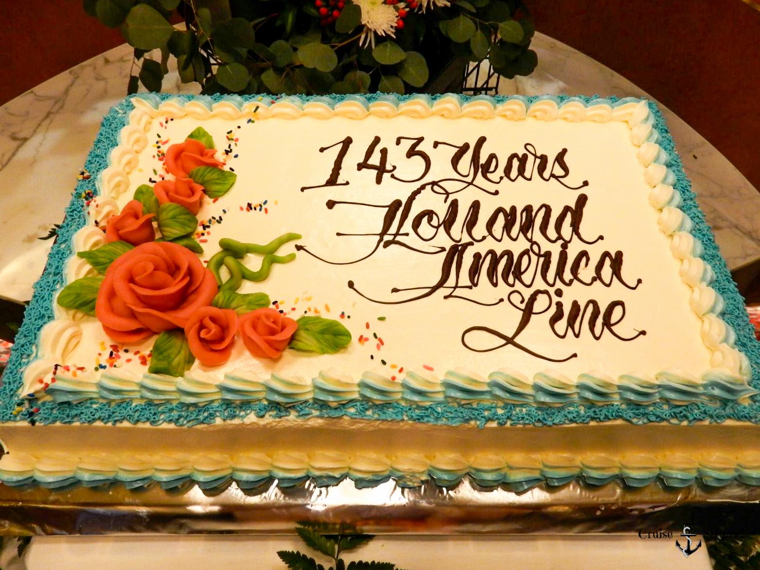 143. Geburtstag von Holland America Line