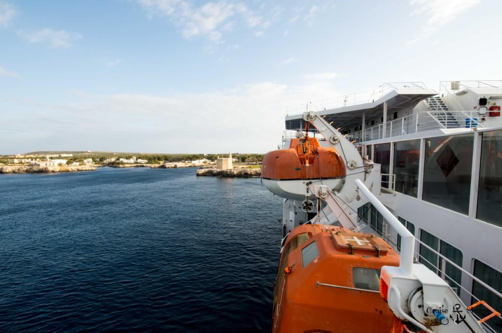 Ankunft auf Menorca mit der Balearia