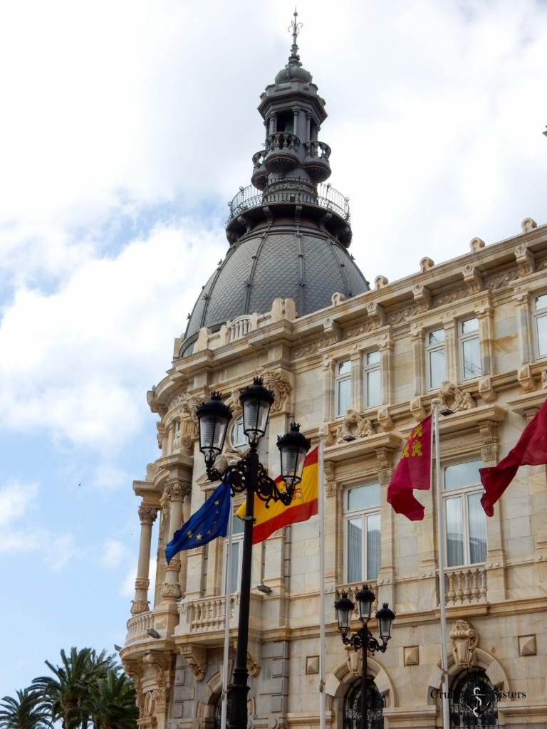 Rathaus und Touristeninformation in Cartagena
