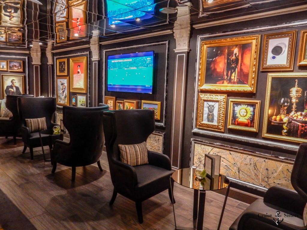 Gallery Bar auf der Eurodam