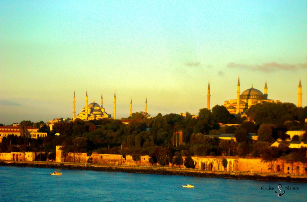 Sonnenaufgang in Istanbul