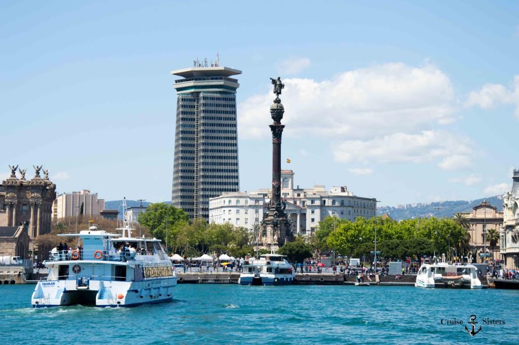 Christoph Kolumbus Barcelona Hafen