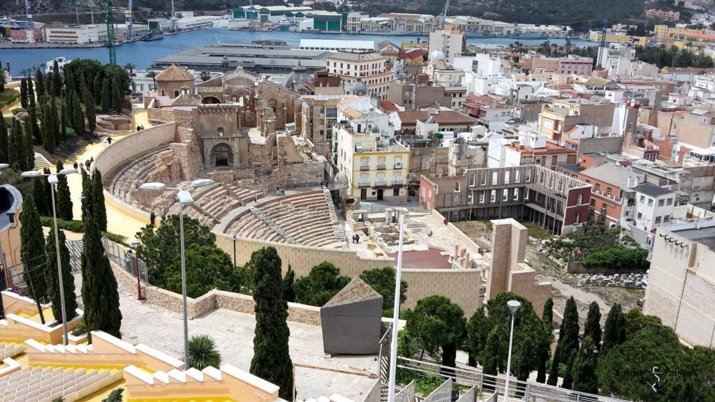 Römisches Amphitheater in Cartagena