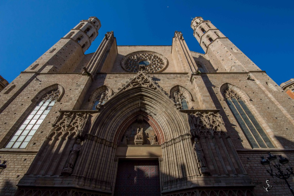 Church Santa Maria del Mar in Barcelona