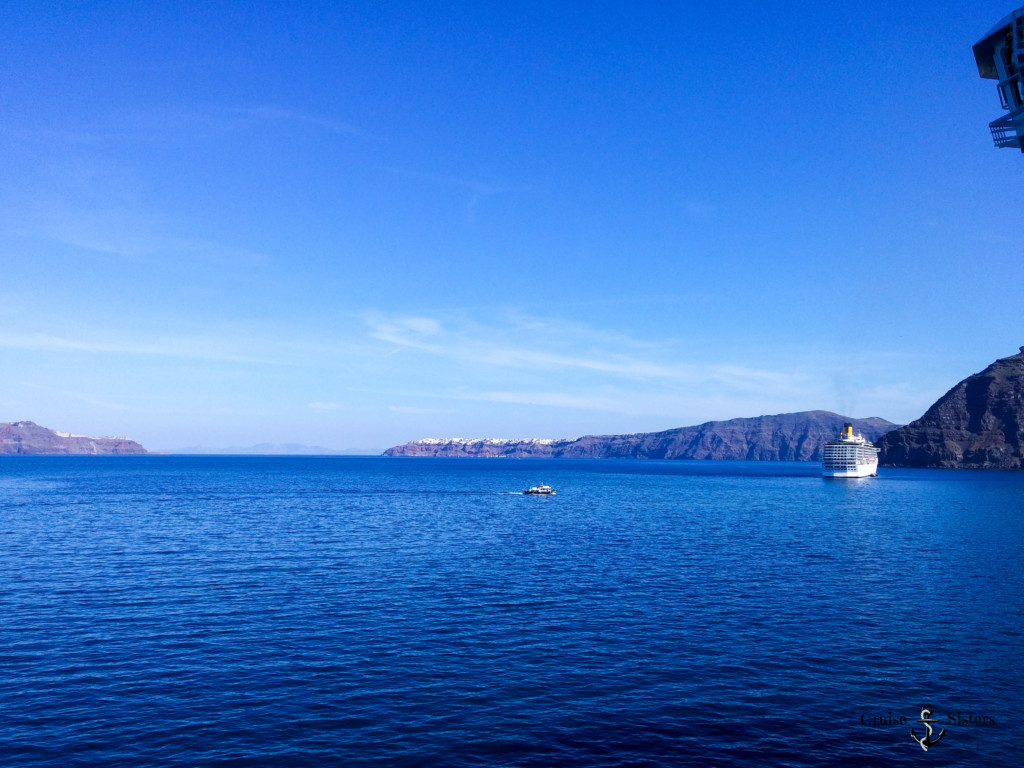 sea view on Santorini