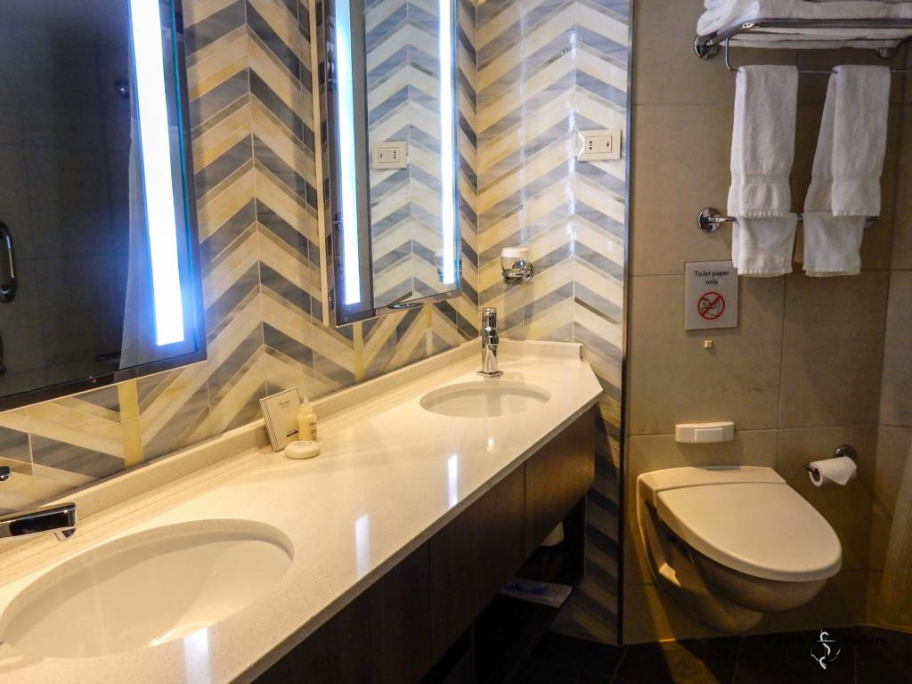 Badezimmer in der Signature Suite