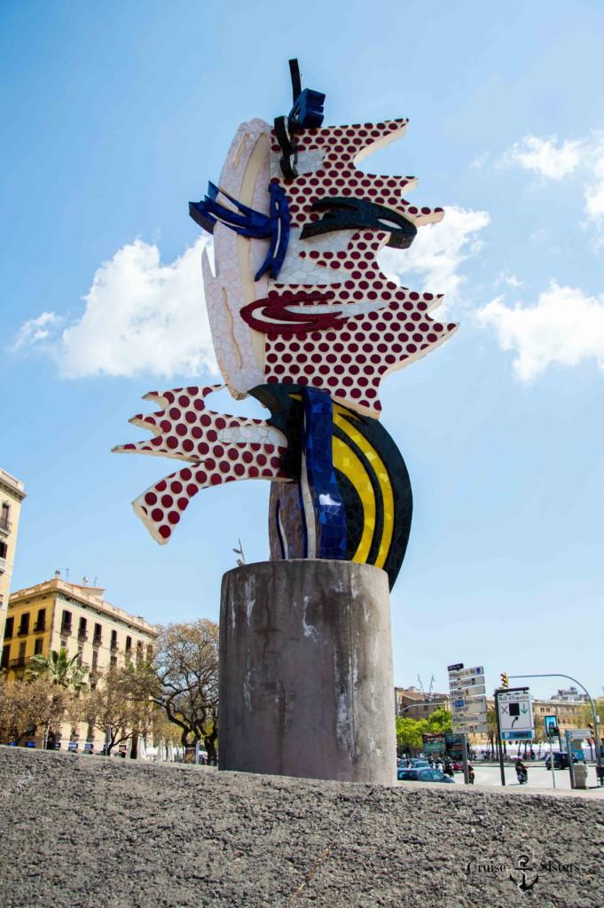 el cap de Barcelona Roy Lichtenstein