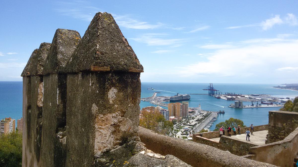 Burg Gibralfaro in Malaga