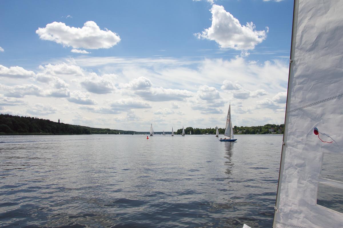 Bootsfahrt auf der Havel