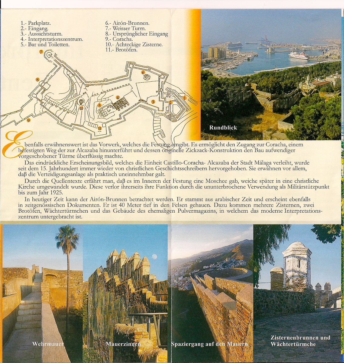 Informationen zur Burg Gibralfaro