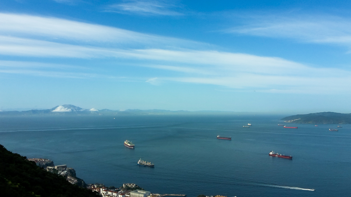 The oceanview in Gibraltar