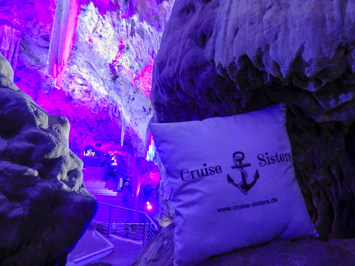 The St. Michael's Cave in Gibraltar