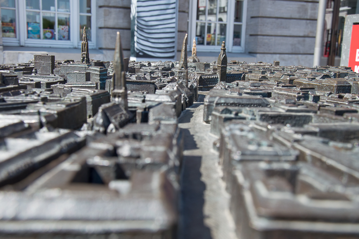 Stadtmodell von Hamburg
