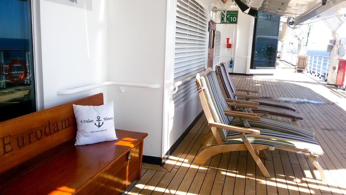 Eurodam Deck 3 Sunbeds