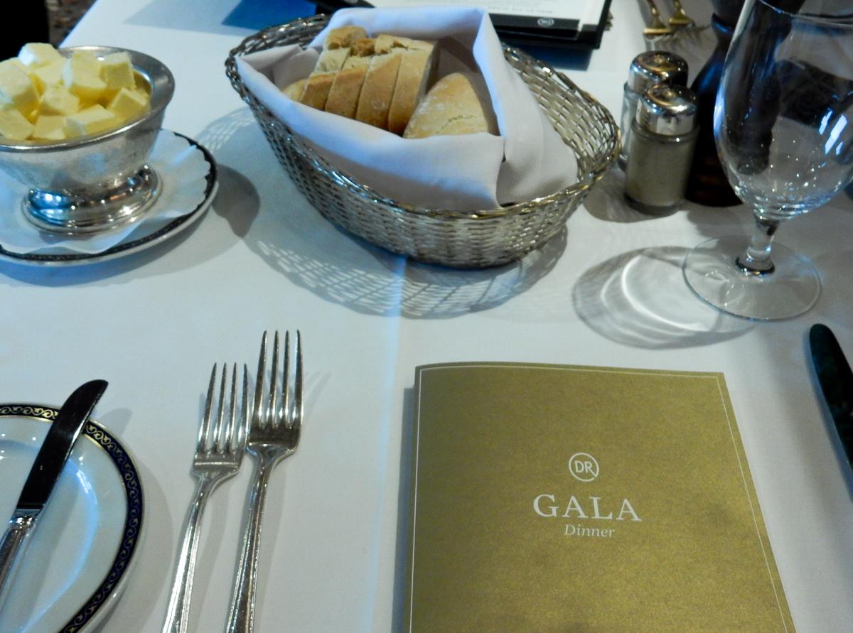 Eurodam Gala DInner