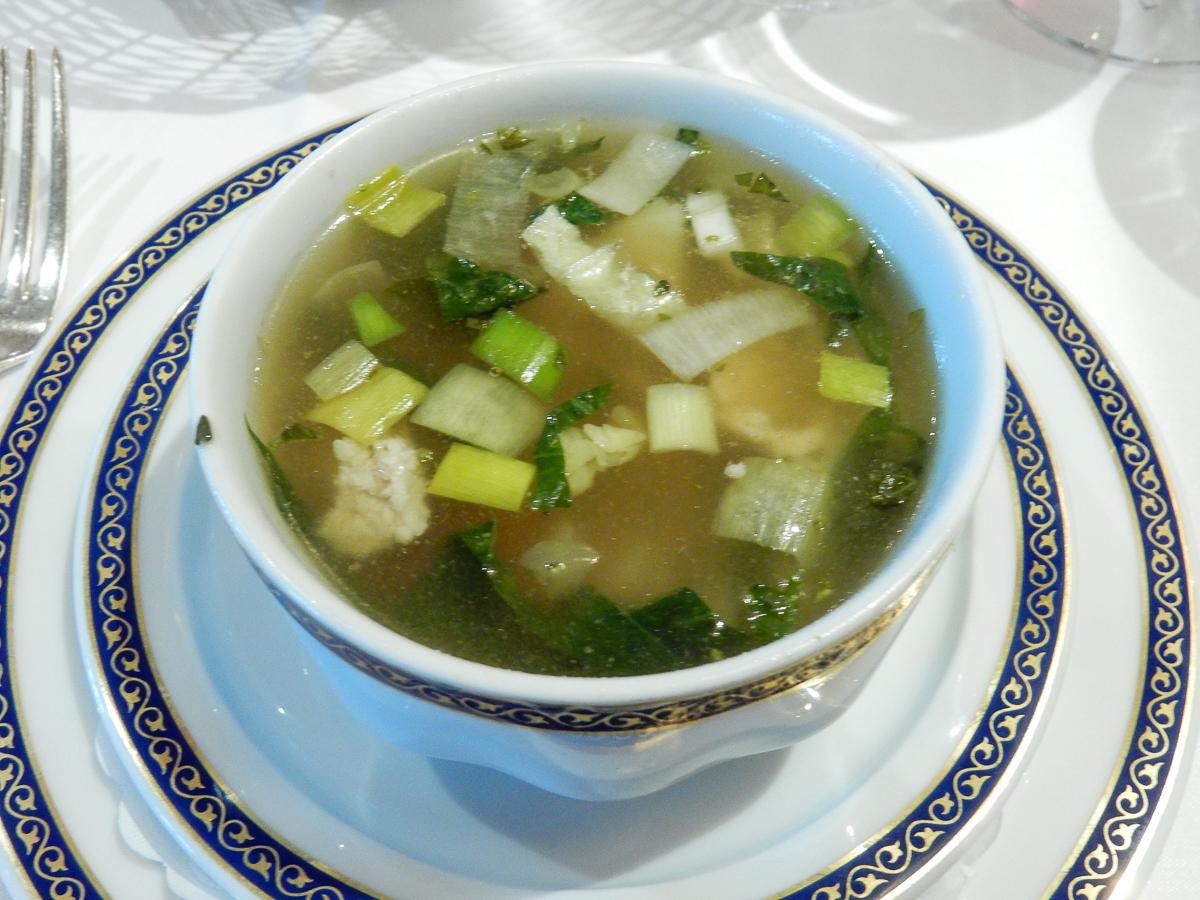 Eurodam Gala Dinner Soup