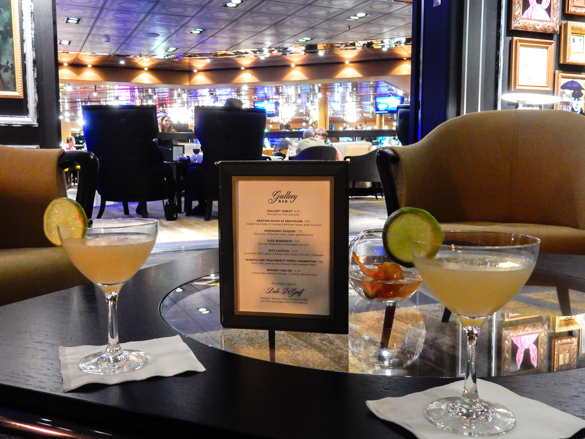 Eurodam Gallery Bar Happy Hour