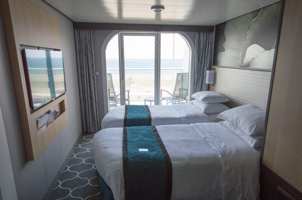 Balcony Stateroom on board the Harmony of the Seas