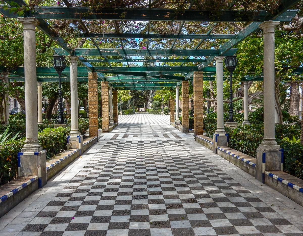Jardines de Alameda Apodaca in Cádiz
