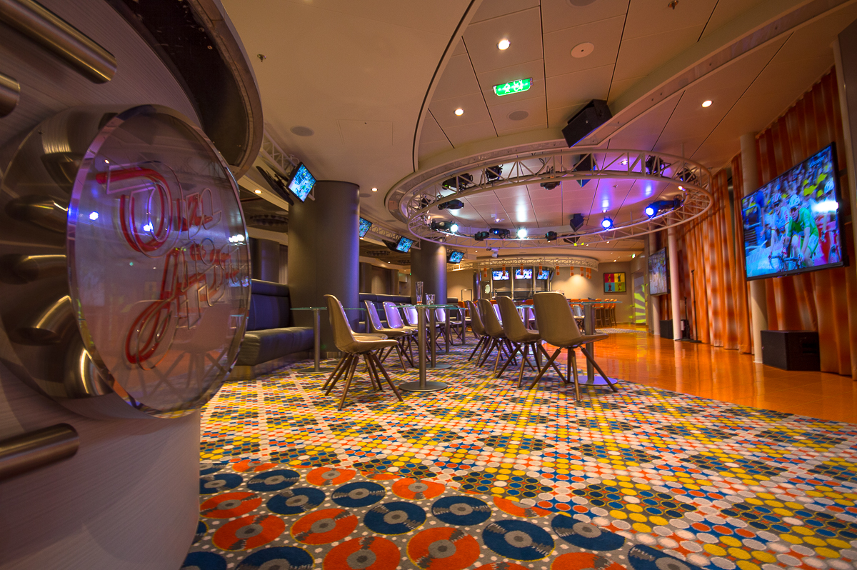 On Air Karaoke onboard Harmony of the Seas