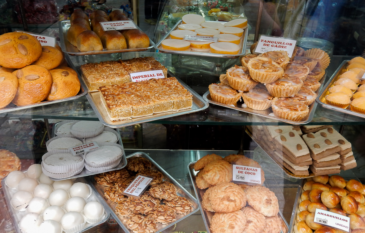 Pastries at Casa Hidalgo in Cádiz