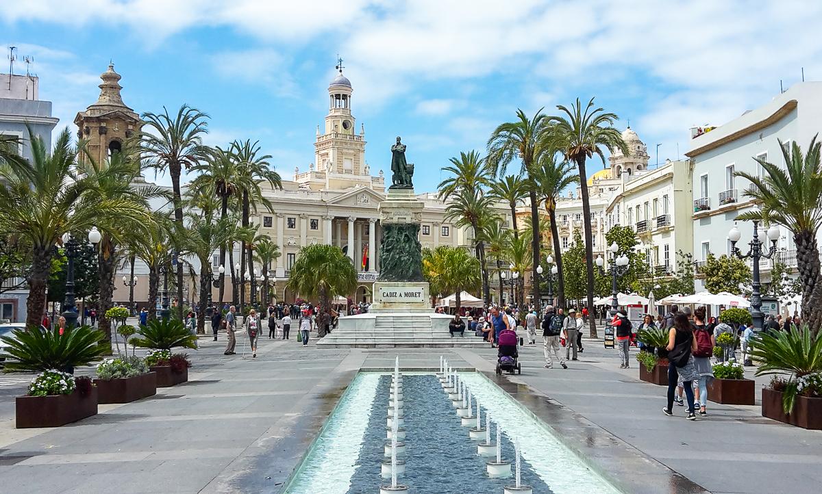 Plaza de San Juan de Dios in Cádiz