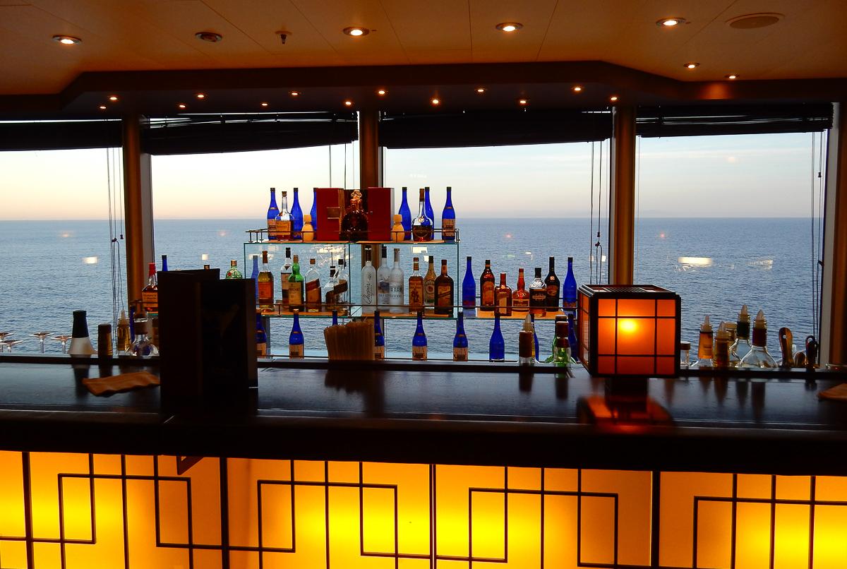 Tamarind Bar aboard the Eurodam