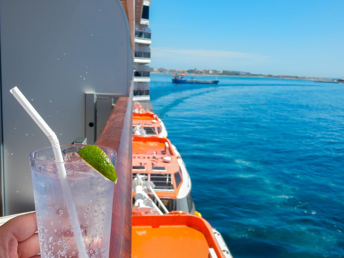 Tonic Water Eurodam Balkonkabine