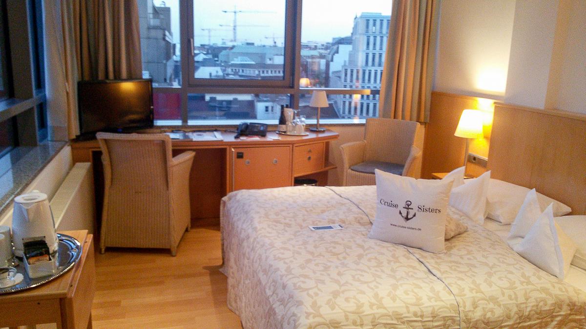 Zimmer im Hotel Baseler Hof in Hamburg